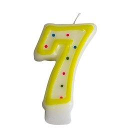 Zahlenkerze Nr. 7  (24 Stück)