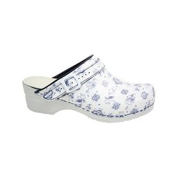 Clogs - Delft blue