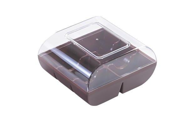 Silikomart Macaron-bewaardoos voor 6 macarons diverse kleuren