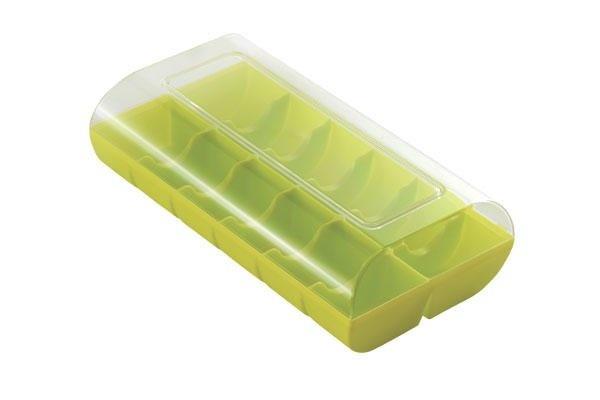 Silikomart Macaron-bewaardoos voor 12 macarons diverse kleuren
