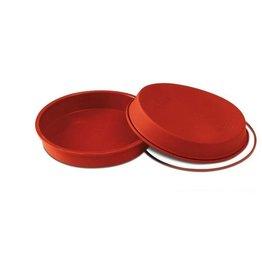 Silikomart Silicone taartpan diameter 180 mm x 65 mm hoog