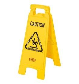 Waarschuwingsbord - Caution