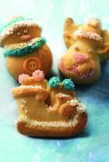 Silikomart Baking mat Funny Christmas