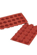 Silikomart Backmatte schneeflocke