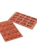 Silikomart Chocolate mold Xmas