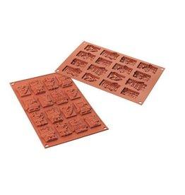 Silikomart Schokoladenform Weihnachten