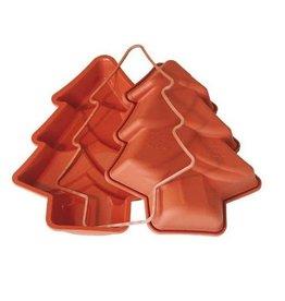 Silikomart Silicone tart pan pine tree