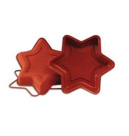 Silikomart Silicone cakemould small star