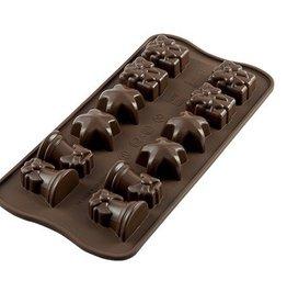 Silikomart Chocolate mold Christmas