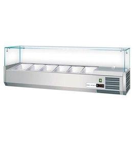 Set up refrigerated display case / Saladette 5 x 1/3 GN