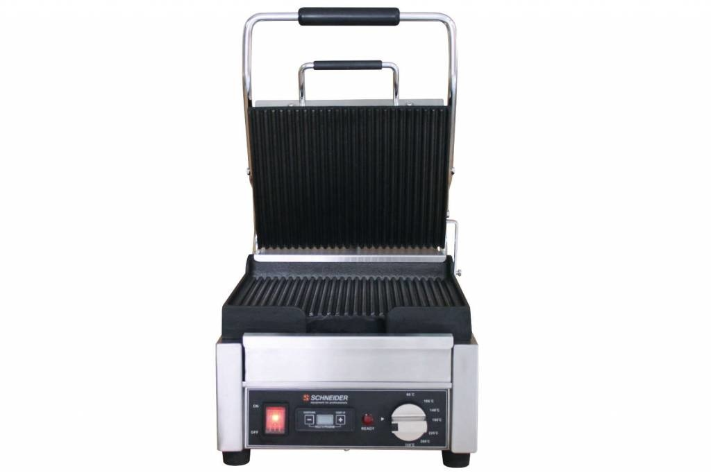 Schneider Grill small ribbed top and bottom plate