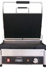 Schneider Grill groot boven- en onderplaat geribbeld