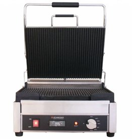 Schneider Grill large ribbed top and bottom plate