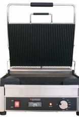 Schneider Grill groot bovenplaat geribbeld onderplaat vlak