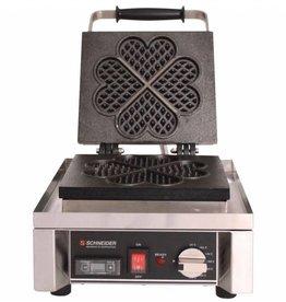Schneider Waffle baking machine Heart