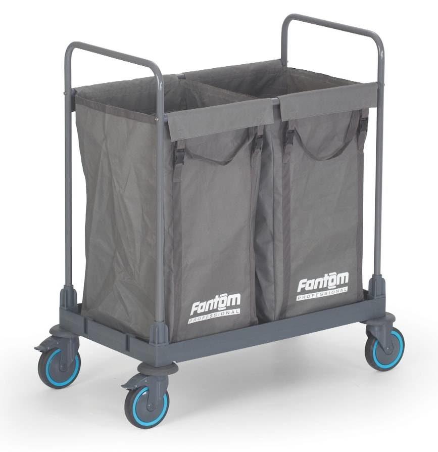 Combisteel Combisteel Laundry collecting trolley 2 compartments
