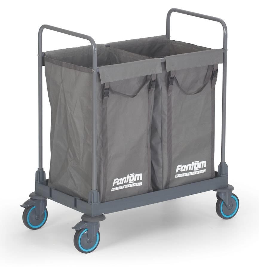 Combisteel Combisteel Wäschewagen 2 Fächer