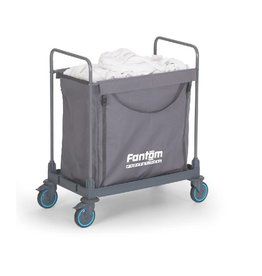 Combisteel Combisteel Laundry collecting trolley 1 compartment