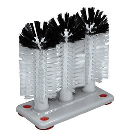 Glass cleaning brush 18 cm high