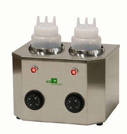 ICB Tecnologie Flaschenwärmer mit 2  Flaschen von 1 Liter