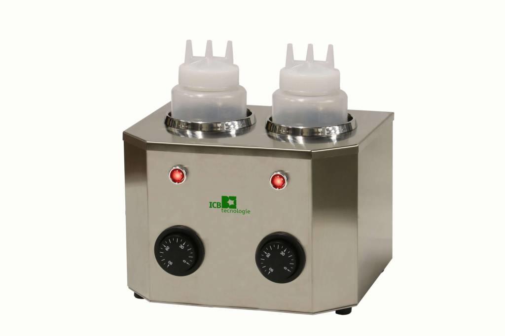 ICB Tecnologie Bottel warmer  with 2 bottles of 1 liter