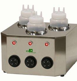 ICB Tecnologie Flaschenwärmer mit 3  Flaschen von 1 Liter
