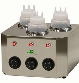 ICB Tecnologie Sauzen verwamer met 3 flessen van 1 liter