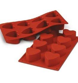 Silikomart Backmatte Heart 90 ml