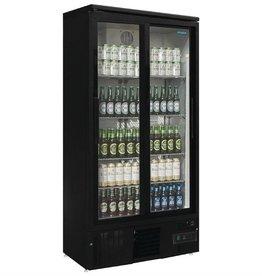 Polar Polar Bar Cooler 490 liters, double sliding doors