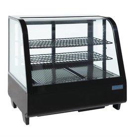 Polar Polar refrigerated display case, tabletop, black