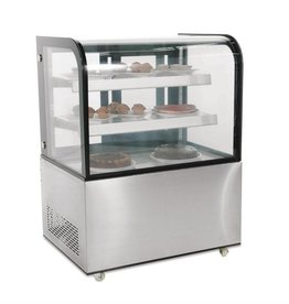 Polar Polar refrigerated display case, 270 liters