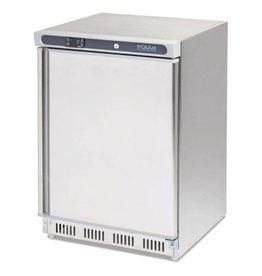 Polar Polar table top freezer 140 liters, stainless steel