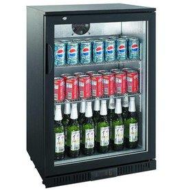 Saro Saro Bar Cooler 138 liters, single swing door, black