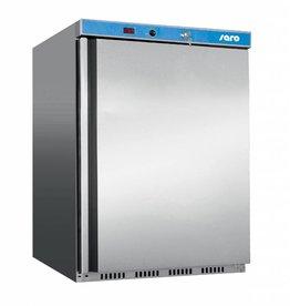 Saro Saro Tischmodell Kühlschrank 129 Liter, Edelstahl