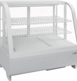 Saro Saro refrigerated display case, tabletop, white