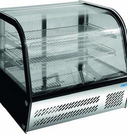 Saro Saro refrigerated display case, tabletop, Stainless steel