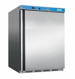 Saro Saro tafelmodel vrieskast 129 liter, RVS