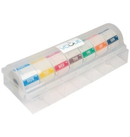 Vogue Set of day stickers 5 cm, soluble, including plastic dispenser