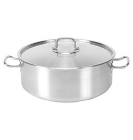 Pujadas Pujadas stainless steel saucepan, low model