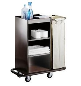 Saro Room service trolley with 1 laundry bag
