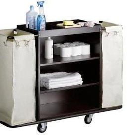 Saro Zimmerservicewagen mit 2 Wäschesacke