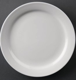 Athena Hotelware Athena Hotelware Plate with narrow edge