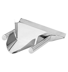 Stainless steel French fries funnel
