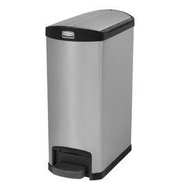Rubbermaid Rubbermaid Slim Jim stainless steel waste bin
