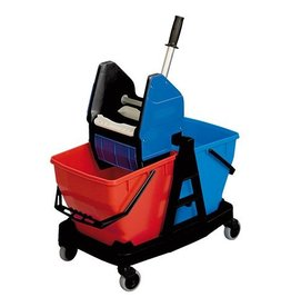 Rubbermaid Rubbermaid mop wagon with 2 x 18 liter buckets