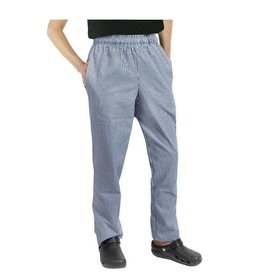 Whites Chefs Clothing Easyfit chef pants blue / white small checkered