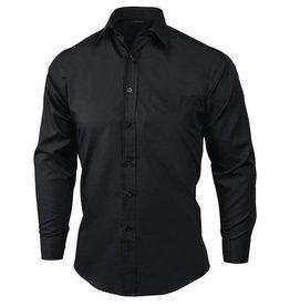 UniformWorks UniformWorks overhemd Unisex, zwart
