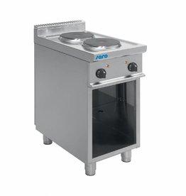 Saro Saro Elektrisch fornuis met open onderstel 2 / 4 / 6 pits