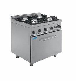 Saro Saro gasfornuis met elektrische oven
