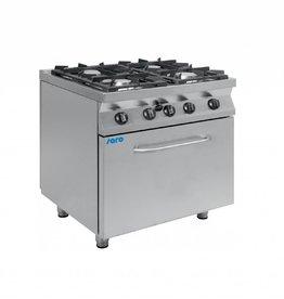 Saro Saro gas stove with gas oven 4 or 6 burner